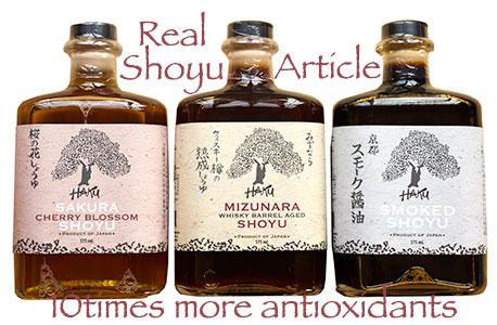 All About Shoyu 10 times more Antioxidants Article