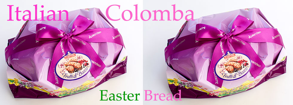 Italian Colomba Easter Cakes