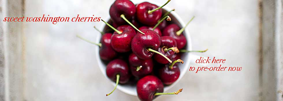 Sweet Washington Cherries