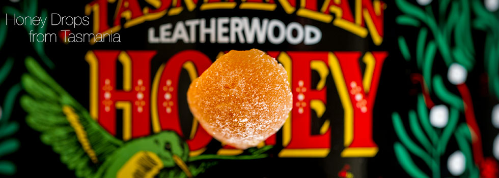 Tasmanian Leatherwood Honey candy Drops