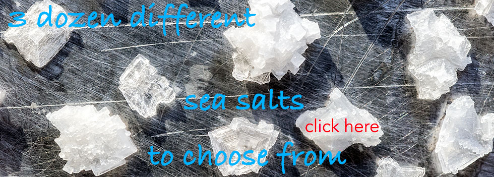 Sea Salt from the World's Seas