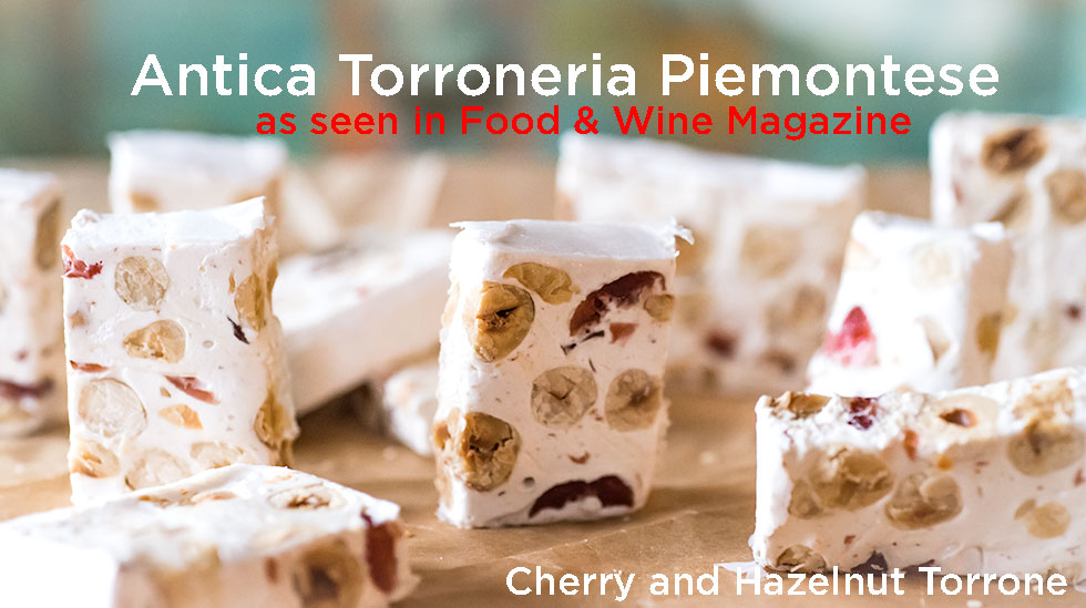 Antica Piemontese Cherry and Hazelnut Torrone