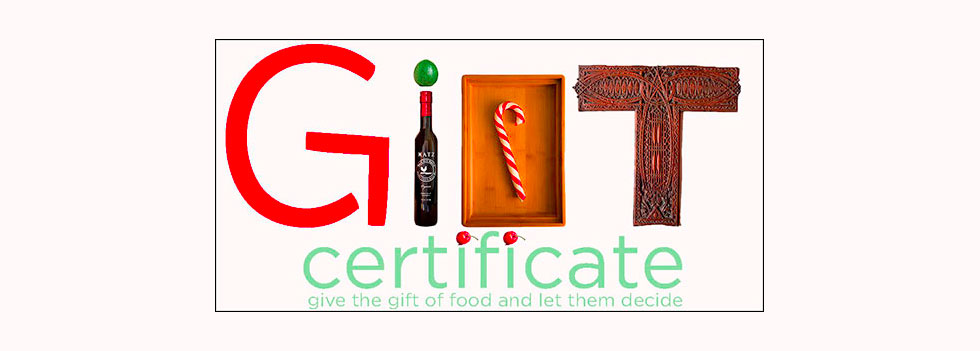 ChefShop Gift Certificate
