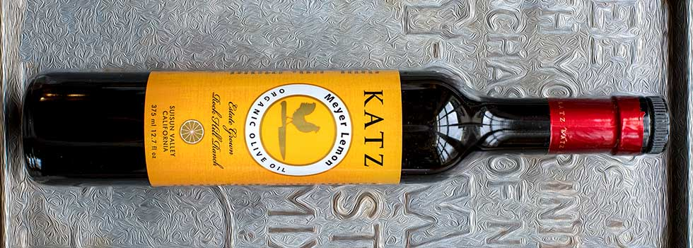 Katz Meyer Lemon Olive Oil Organic