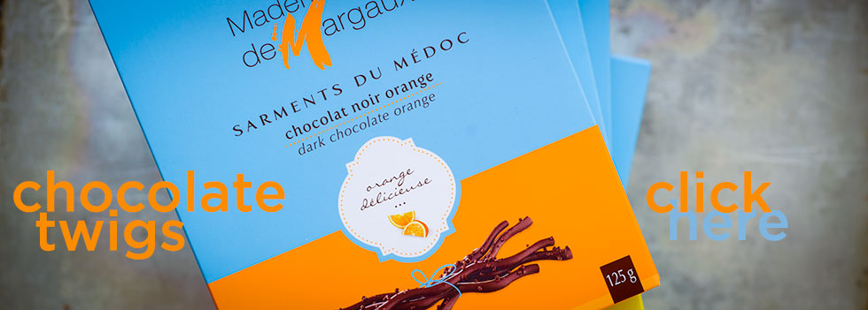 Mademoiselle de Margaux Chocolate Twigs