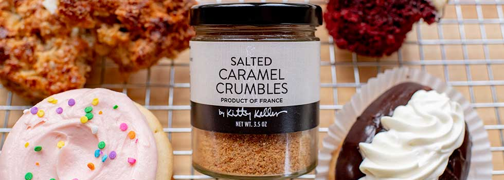 Salted Caramel Crumbles from Kitty Keller