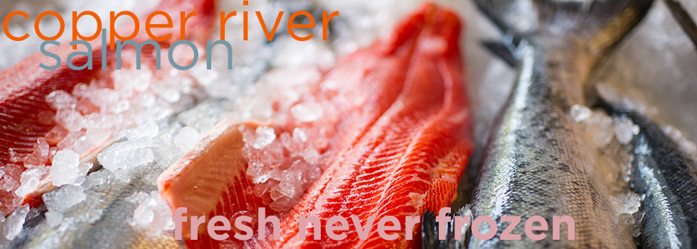 Copper River Wild Alaskan Salmon