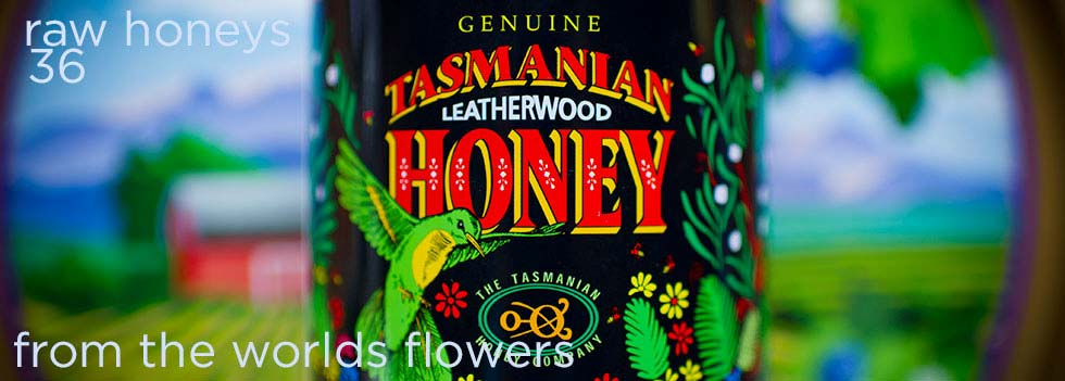 Raw Honey from The Worlds Flowers