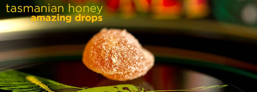 Tasmanian Leatherwood Honey Drops