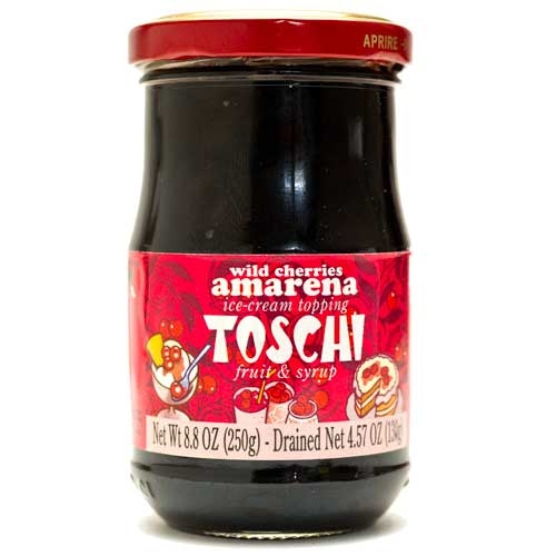 Toschi Wild Amarena Cherries in Syrup