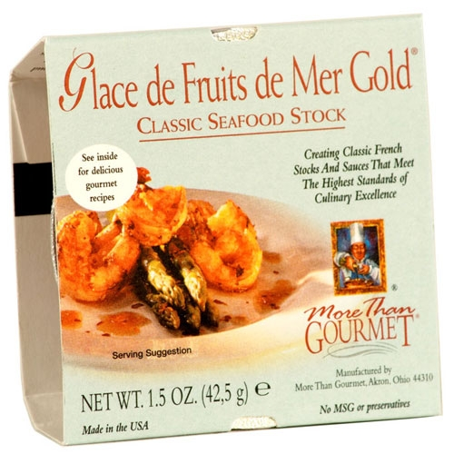Glace de Fruits de Mer - Seafood Stock