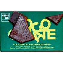ChocoLate Organic Dark with Olive Oil
