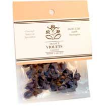 India Tree Candied Violet Petals