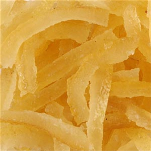Candied Lemon Peel - France
