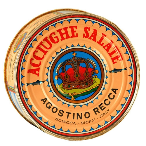Recca Anchovies - Salt-Packed - Italy