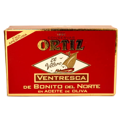 Ortiz Ventresca Tuna In Olive Oil