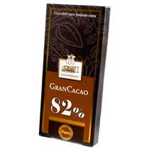 Slitti Gran Cacao Dark Chocolate 82% Bar