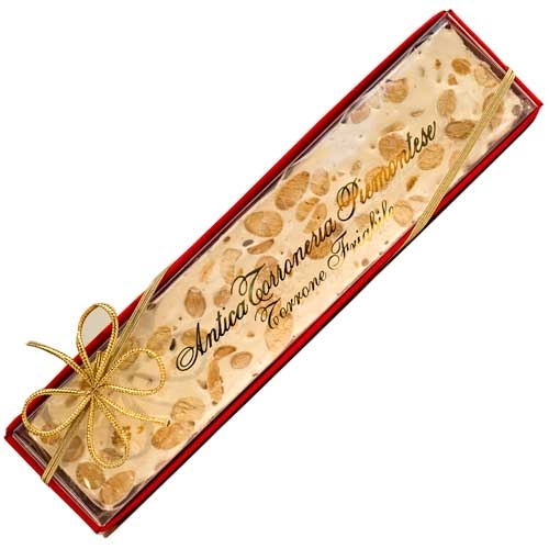 Hard Piemontese Torrone with Almond