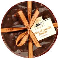 Slitti Dark Chocolate Disk with Almonds