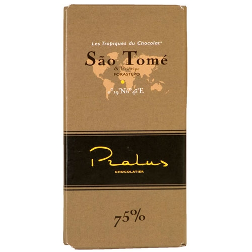 Pralus Sao Tome Dark Chocolate 75% Bar