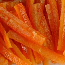 Candied Orange Peel - France