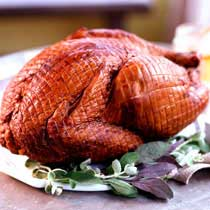 Smoked Whole Free-Range Turkey - Thanksgiving