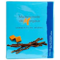 Milk Chocolate Twigs with Toffee Caramel - Mademoiselle de Margaux