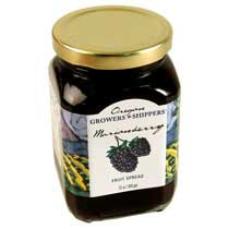 Oregon Growers Marionberry Fruit Spread