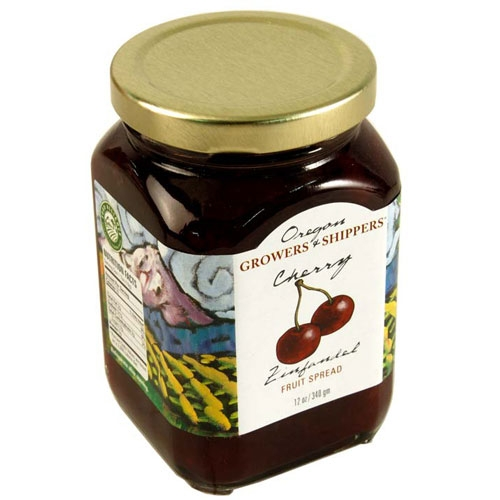 Cherry Zinfandel Fruit Spread - Oregon