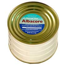 Sacred Sea Albacore Tuna - 4-lb Can