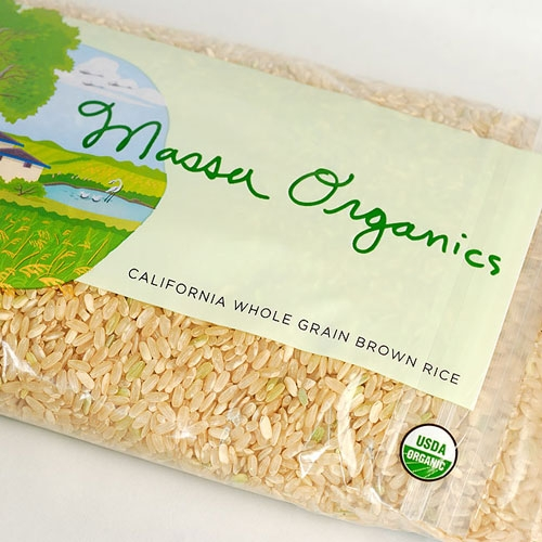 Brown Rice, Organic - California