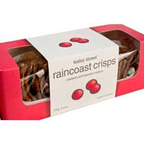 Raincoast Crisps Cranberry and Hazelnut