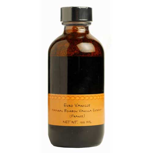 Euro Alcohol-Free Bourbon Vanilla Bean Extract  2X