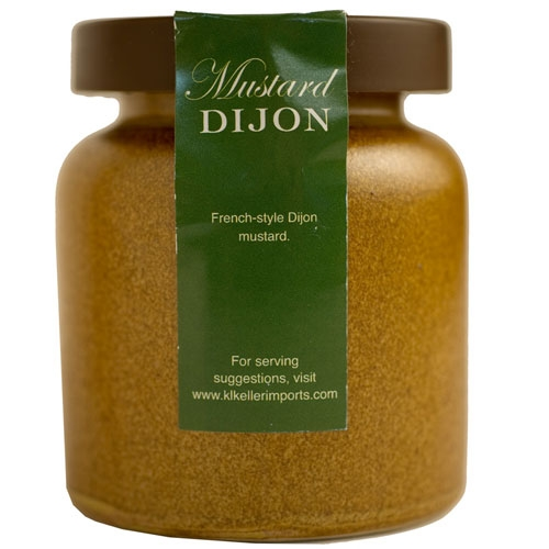 Dijon Mustard in a Crock