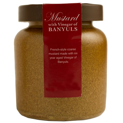 Banyuls Vinegar Mustard in a Crock