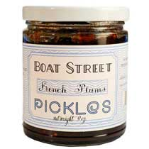 Boat Street Pickled French Plums