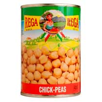 Garbanzo (Chickpeas) - canned - Italy