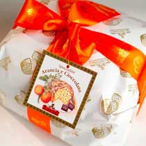 Orange and Chocolate Panettone - Albertengo