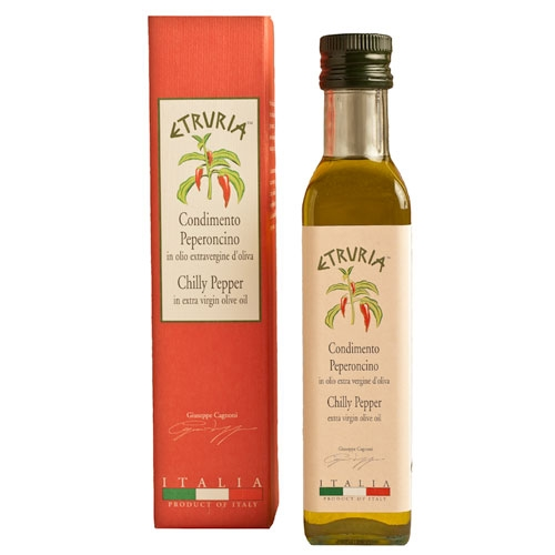 Etruria Chili Pepper Olive Oil - Organic