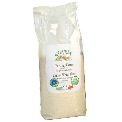 Whole Grain Emmer (Farro) Flour - Organic - Italy