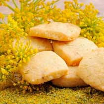 Fennel Pollen Shortbread
