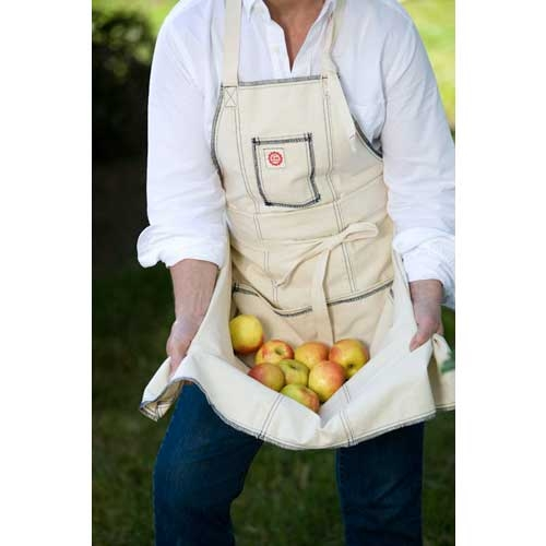 Classic Chefs Apron Navy Serged