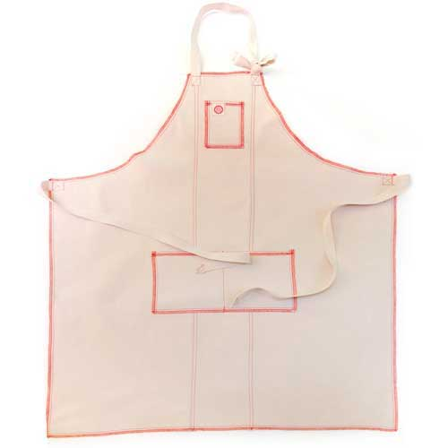 Classic Chef Apron Red