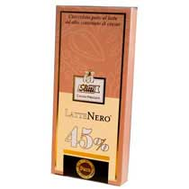 Slitti Lattenero Dark Milk Chocolate 45% Bar