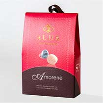 ALDA  Candied Amorene (Sour) Cherry Truffles