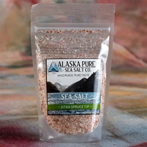 Alaska Pure Sitka Spruce Tip Flake Sea Salt