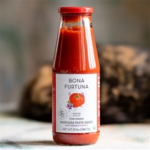 Bona Furtuna Organic Marinara Sauce with Oregano Flowers