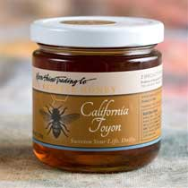 California Toyon Honey