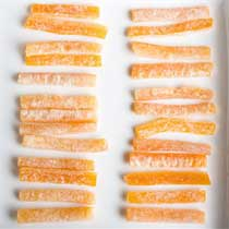 French Candied Orange Peel