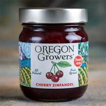 Cherry Zinfandel Fruit Spread